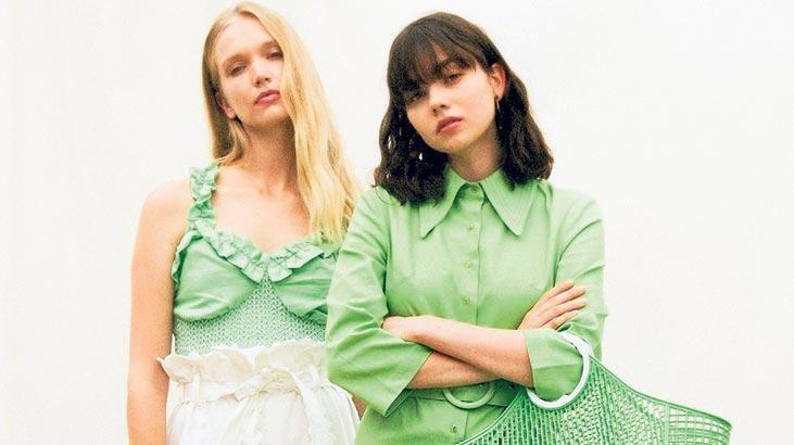 Moda dünyası yeşilleniyor