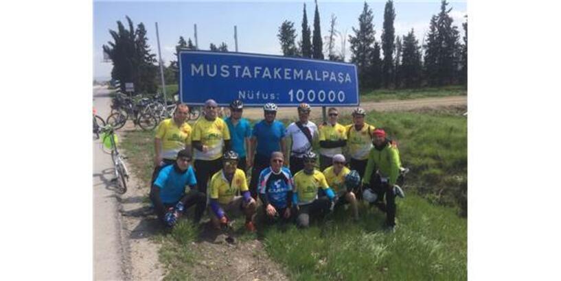 Balıkesirli Bisikletçilerden M. Kemalpaşa Turu
