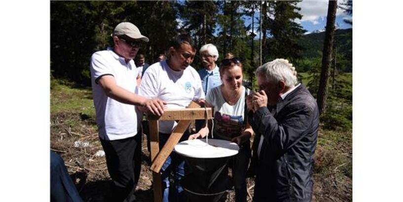 Artvin'de Yabancı Ormancılara Eğitim Verildi