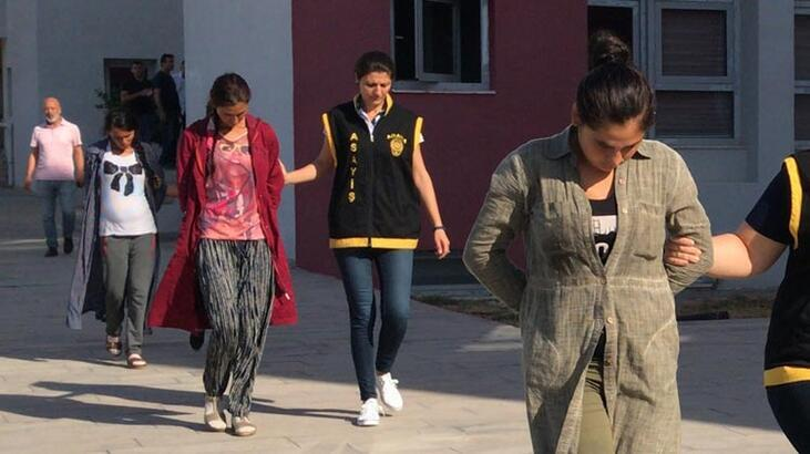 Röntgen filmiyle soygun yapan 3 kadın yakalandı