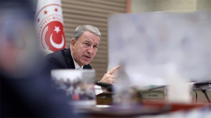 Bakan Akar: Barış Pınarı Harekâtı'nda 342 terörist öldürüldü