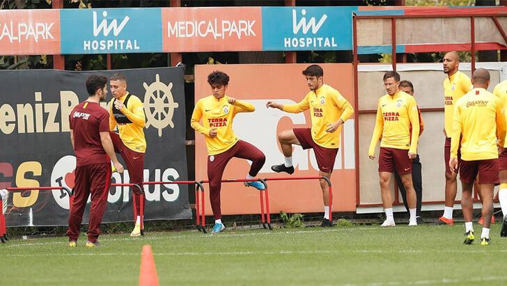 Galatasaray, Sivasspor hazırlıklarını sürdürüyor