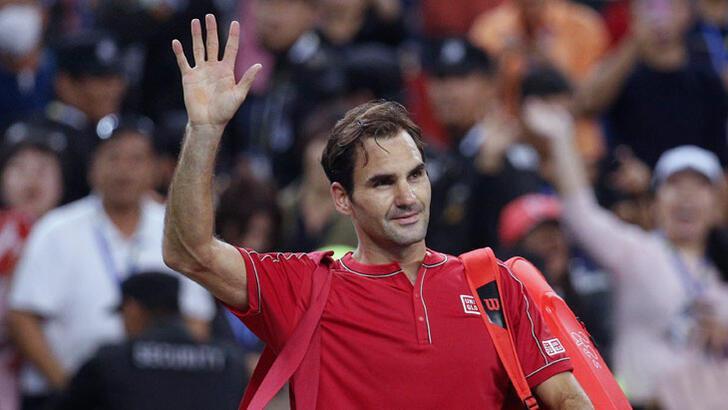 Federer, Şanghay'a havlu attı