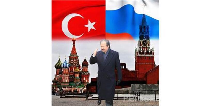 Rusya Devlet Başkanı Putin'den İşadamı Eski Bakan Çağlar'a Devlet Dostluk Nişanı