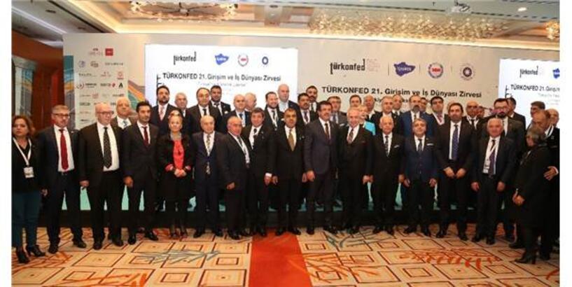 Türkonfed 21. Girişim Ve İş Dünyası Zirvesi