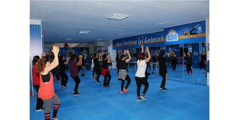 Antalya'da Asfim'e Yoğun İlgi