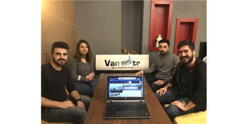 İnternet Ortamında Van'ı Tanıtıyorlar