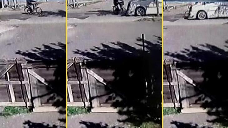 15 yaşındaki çocuğun kullandığı minibüs bisikletli adamı öldürdü!