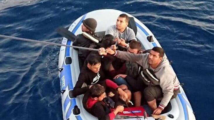 5 saat arayla 18 göçmen böyle yakalandı!