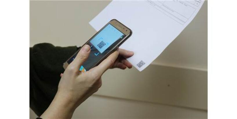 Karekod Uygulaması İle Muayene Sonuçlarını Cep Telefonuna Gelecek