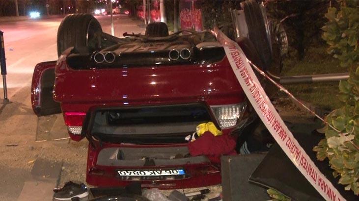 Ankara'da feci kaza! Ölü ve yaralılar var...
