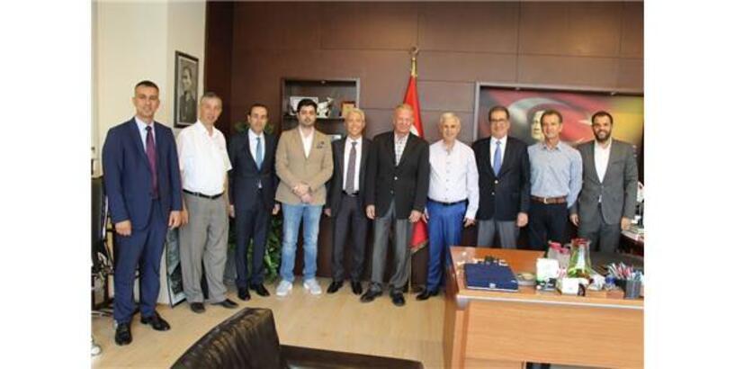 Söke Ticaret Borsası'ndan Başkan Toyran'a Ziyaret