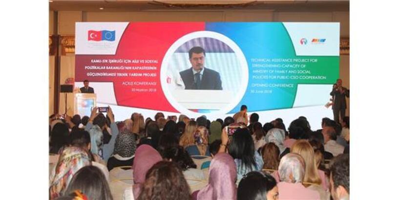 Aile Ve Sosyal Politikalar Bakanlığının, Kapasitesinin Güçlendirilmesi Teknik Yardım Projesi'nin Konferansı Başladı