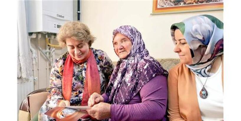 Vali Büyükakın'ın Eşinden Şehit Ailelerine Ziyaret