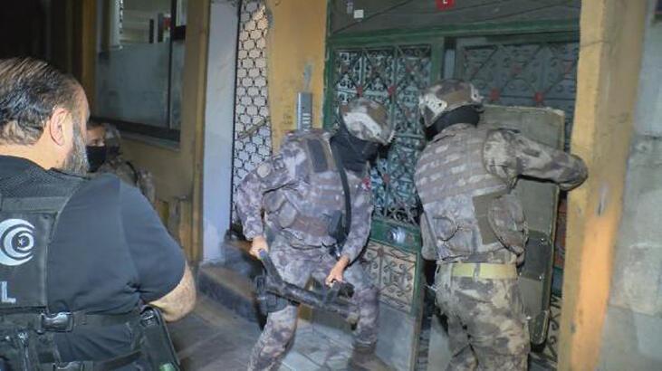 İstanbul'da 5 ilçede uyuşturucu operasyonu! 31 gözaltı...