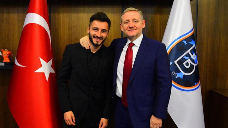 Cenk Enver Şahin Başakşehir'de idmanlara çıkacak