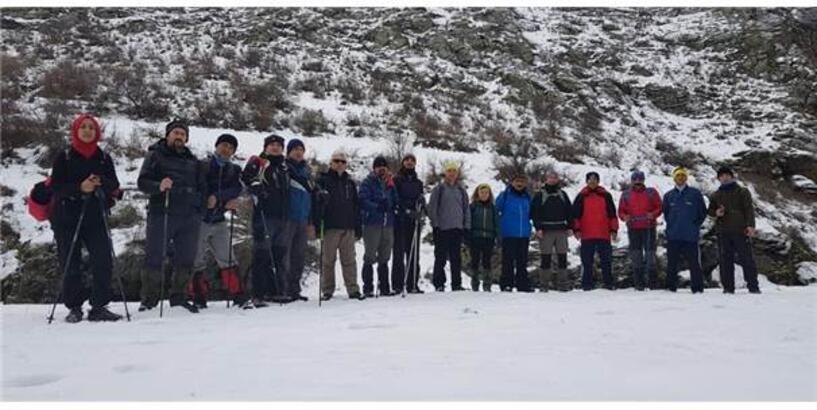 Amatör Dağcılar Susuz Kanyonunda Yürüdü