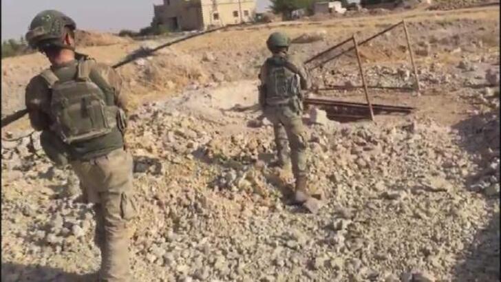 Resulayn ve Tel Abyad'ın merkez ile kırsalında arama-tarama faaliyetleri sürüyor