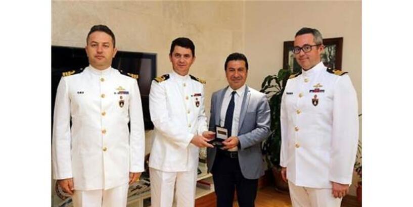 'Denizkurdu-2019'Un Komutanlarından Başkan Aras'a Ziyaret