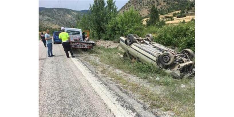Kastamonu'da Otomobil Devrildi: 5 Kişilik Aile Yaralı