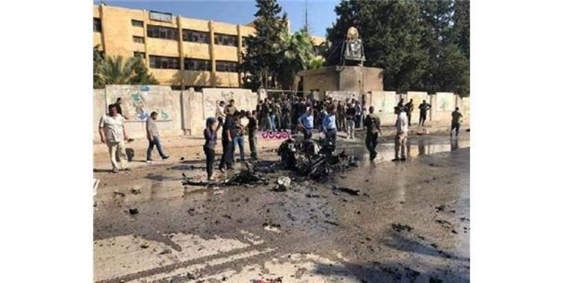 Kamışlı'da Bomba Yüklü Otomobil İnfilak Etti: 3 Ölü, 1 Yaralı