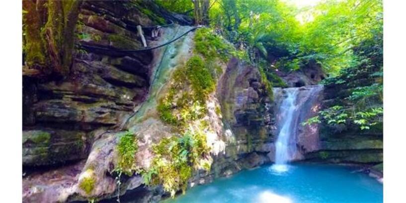 Doğa Harikası Erfelek Tatlıca Şelaleleri'ne İlgi