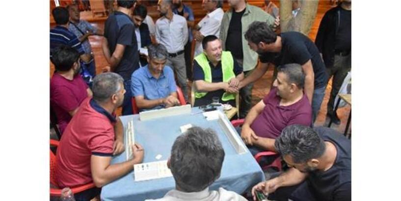 Başkan Beyoğlu, Vatandaşlarla Buluştu