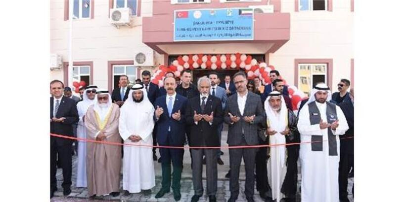 Şanlıurfa'da Kuveytlilerin Yaptırdığı İki Okulun Açılışı Yapıldı