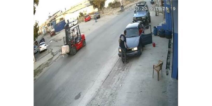 Çaldıkları Kasayı Forkliftle Taşıyan Soyguncular Yakalandı