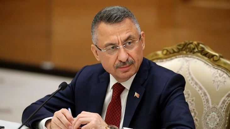 Cumhurbaşkanı Yardımcısı Oktay'ın kabulü