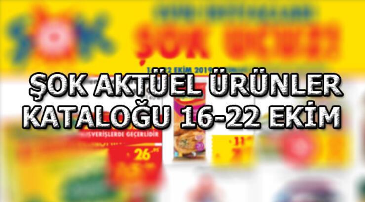 Şok Aktüel ürünler kataloğu! 16-22 Ekim ŞOK aküel ürünler