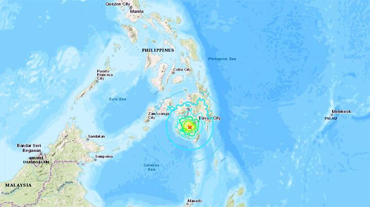 Son dakika... Filipinler'de deprem! Dev fay hattının kıyısında