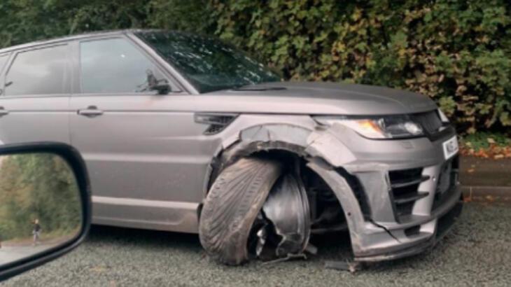 Sergio Aguero trafik kazası geçirdi!