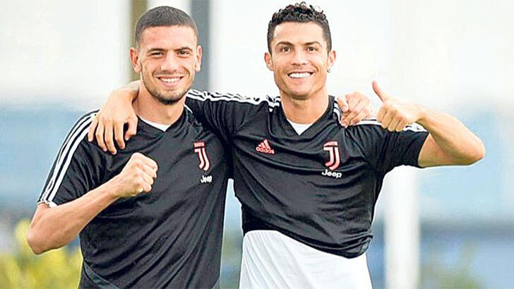 Merih Demiral'a Ronaldo etkisi