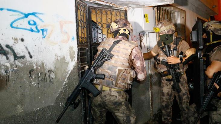 Adana'ta terör propagandası operasyonu