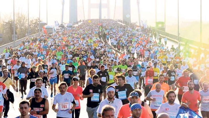 Maratonda bağış rekoru!