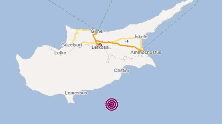Son dakika: Akdeniz'de 3.7 büyüklüğünde deprem!