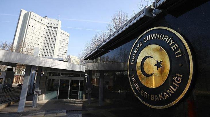 Dışişleri Bakanlığı'dan 'kimyasal silah' açıklaması