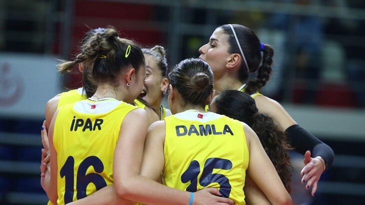 Fenerbahçe Opet: 3 - Atlasglobal Yeşilyurt: 0