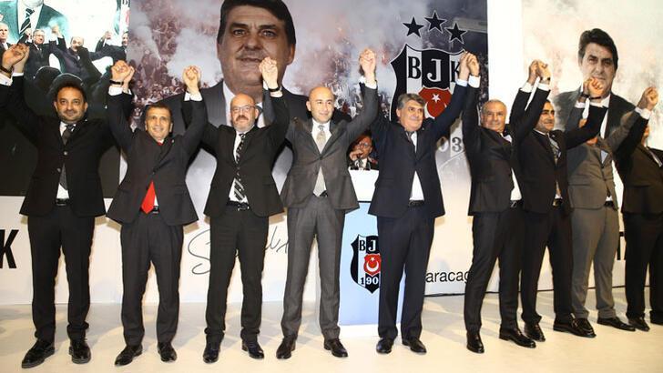 Beşiktaş'ta başkan adayı Serdal Adalı listesini tanıttı