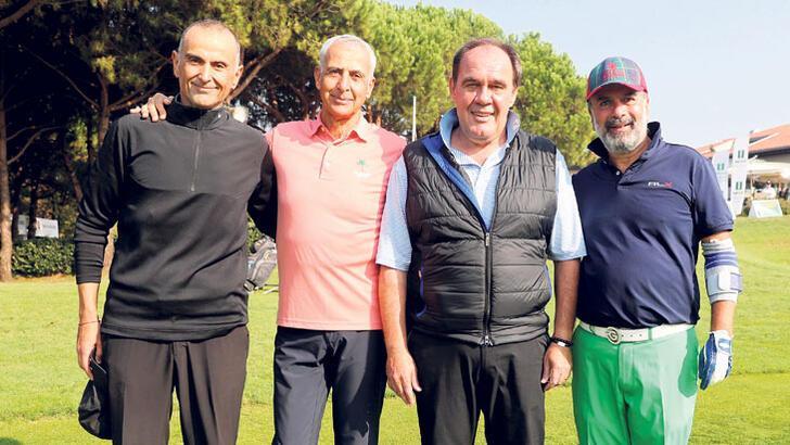 Golfçüler Kemer'de buluştu