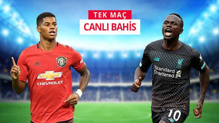 Manchester United – Liverpool! Dev maç canlı bahis ve tek maçla Misli.com'da...