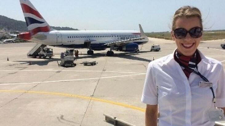 Hostesin sevgilisi ve pilot birbirine girdi!