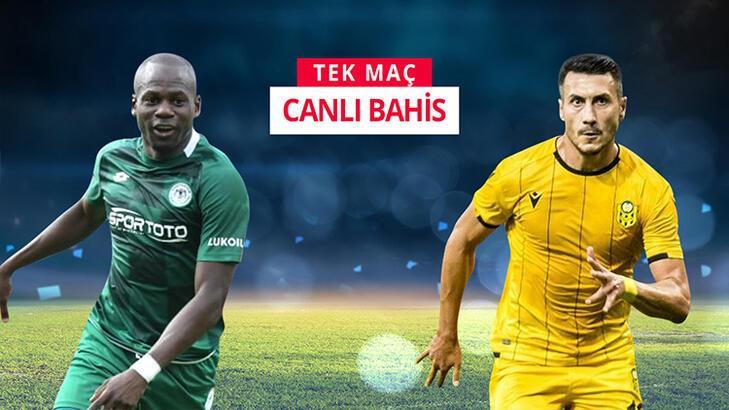 Konyaspor - Yeni Malatyaspor maçı canlı bahis heyecanı Misli.com'da