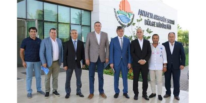 Antalya Osb, Kazakistan'a Heyet Gönderecek