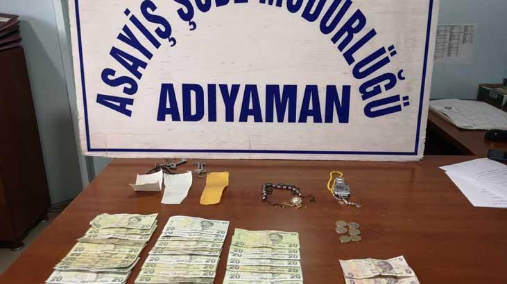 Dilenci kılığındaki hırsızlar gözaltına alındı