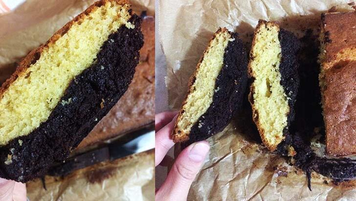 İki lezzet bir arada: Altı browni üstü kek