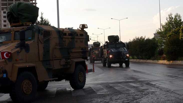 El Bab bölgesine askeri sevkiyat