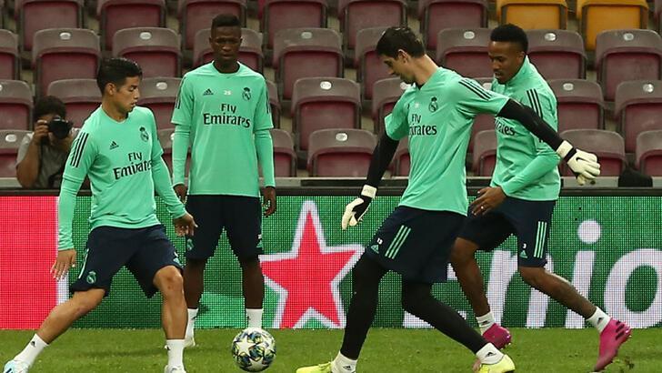 Real Madrid, G.Saray maçının hazırlıklarını tamamladı