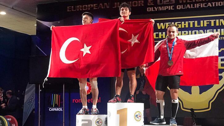 Muhammet Furkan Özbek'ten altın madalya